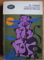 Anticariat: A. Russo - Piatra-teiului