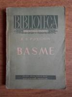 Anticariat: A. S. Puschin - Basme