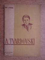 Anticariat: A. Tvardovski