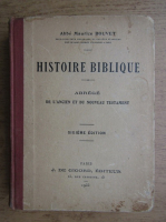 Abbe Maurice Bouvet - Histoire biblioteque (1935)