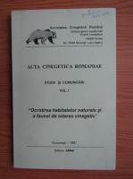 Acta CInegetica Romaniae, volumul 1. Studii si comunicari