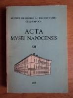 Anticariat: Acta Musei Napocensis (volumul 12)