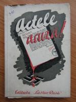 Anticariat: Actele acuza (1945)