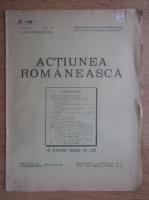 Anticariat: Actiunea romaneasca, anul I, no. 4, 15 decembrie 1924