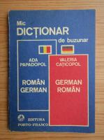 Anticariat: Ada Papadopol - Dictionar roman-german, german-roman