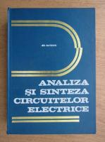 Adelaida Mateescu - Analiza si sinteza circuitelor electrice