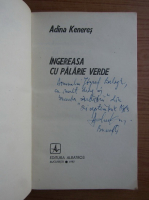 Anticariat: Adina Keneres - Ingereasa cu palarie verde (cu autograful autoarei)