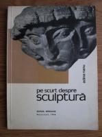 Adina Nanu - Pe scurt despre sculptura