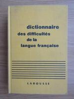 Adolphe V. Thomas - Dictionnaire des difficultes de la langue francaise