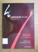Anticariat: Adrian Doff, Christopher Jones - Language in use, intermediate. Self-study workbook
