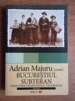 Anticariat: Adrian Majuru - Bucurestiul subteran. Vagabondaj, cersetorie, delicventa
