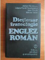 Anticariat: Adrian Nicolescu - Dictionar frazeologic englez-roman