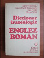 Anticariat: Adrian Nicolescu, Mircea Tatos - Dictionar frazeologic englez-roman
