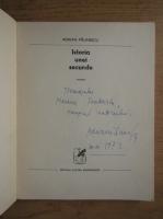 Anticariat: Adrian Paunescu - Istoria unei secunde (cu autograful autorului)