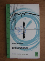 Anticariat: Adrian Paunescu - Ultrasentimente (volum de debut, 1965)