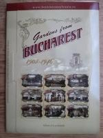 Adrian Samoila - Gradini din Bucuresti (9 ilustrate)