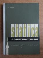 Anticariat: Adrian Scarlat - Statica constructiilor