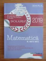 Anticariat: Adrian Zanoschi - Bacalaureat matematica mate-info, 2019