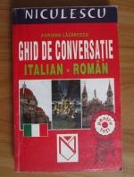 Anticariat: Adriana Lazarescu - Ghid de conversatie italian-roman pentru toti