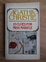 Agatha Christie - 13 clues for Miss Marple