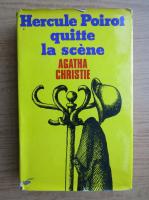 Agatha Christie - Hercule Poirot quitte la scene