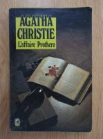 Agatha Christie - L'affaire Prothero