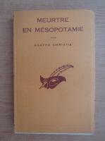 Agatha Christie - Meurtre en mesopotamie (1939)