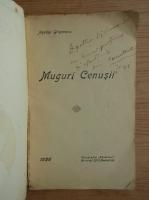 Agatha Grigorescu Bacovia - Muguri cenusii (cu dedicatia autoarei, 1926)