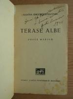 Agatha Grigorescu Bacovia - Terase albe (cu dedicatia autoarei, 1938)