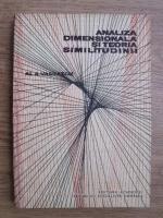 Al. A. Vasilescu - Analiza dimensionala si teoria similitudinii