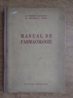 Al. Duminica, O. Stefanescu - Manual de farmacologie