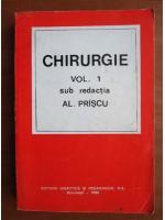 Anticariat: Al. Priscu - Chirurgie (volumul 1)