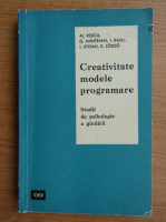 Al. Rosca - Creativitate, modele, programare