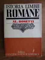 Anticariat: Al. Rosetti - Istoria limbii romane