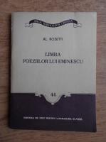 Anticariat: Al. Rosetti - Limba poeziilor lui Eminescu