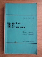 Anticariat: Al. Siperco - Note de drum
