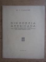 Anticariat: Al. T. Stamatiad - Din poezia americana (1947)