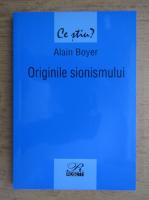 Alain Boyer - Originile sionismului