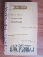 Alain Guillermou - Geneza interioara a poeziilor lui Eminescu