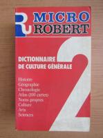 Anticariat: Alain Rey - Micro Robert. Dictionnaire de culture generale