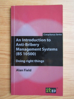 Alan Field - An introduction to anti-bribery management systems
