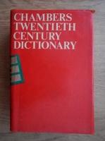 Alan MacDonald - Chambers twentieth cetury dictionary