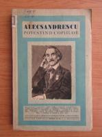 Alecsandrescu, povestind copiilor (1930)