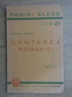 Anticariat: Alecu Russo - Cantarea Romaniei (1936)
