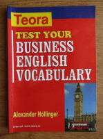 Alexander Hollinger - Test your business english vocabulary
