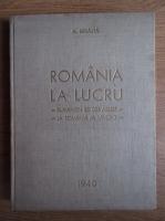 Alexandru Badauta - Romania la lucru (1940)