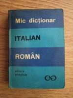 Alexandru Balaci - Mic dictionar italian-roman