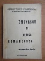 Anticariat: Alexandru Bojin - Eminescu si lirica romaneasca