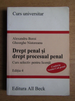 Anticariat: Alexandru Boroi - Drept penal si drept procesual penal