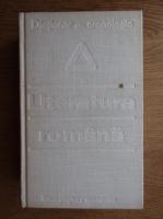 Anticariat: Alexandru Dima - Dictionar cronologic de literatura romana